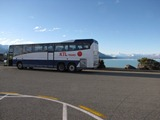 Bus at Pukaki